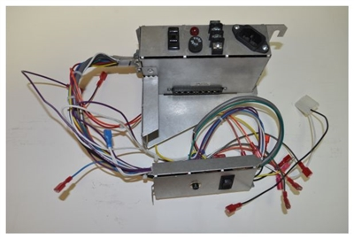 quadrafire santa fe insert wire harness/junction box 7019-166 wiring harness pellet stove #15