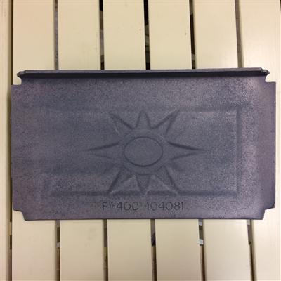 Jotul Rear Burn Plate F400 104081