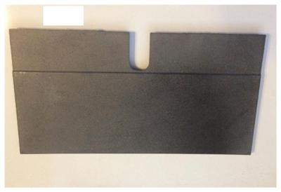 jotul f 602 cb side burn plate 10346512. Black Bedroom Furniture Sets. Home Design Ideas
